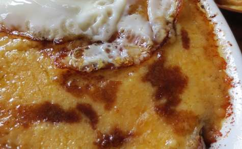 Welsh Rarebit avec Jambon