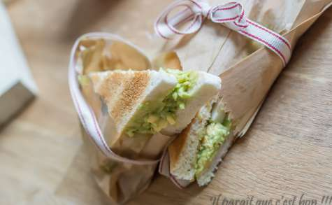 Club sandwich œuf avocat
