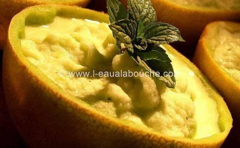 Soupe Granitée de Melon
