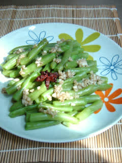 Salade d'haricots verts