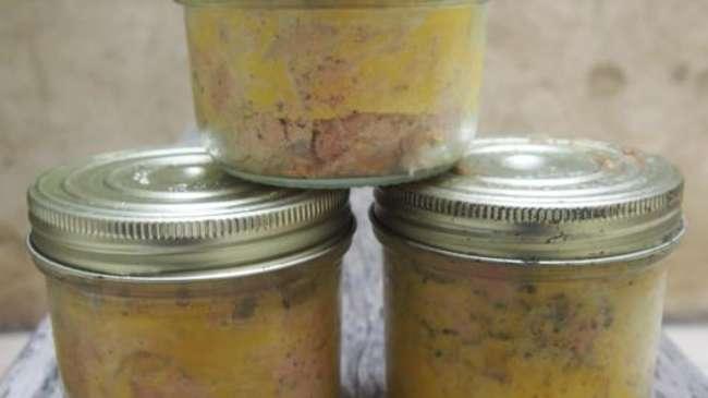 foie gras en conserve la recette de chef simon par cuisiner en paix. Black Bedroom Furniture Sets. Home Design Ideas