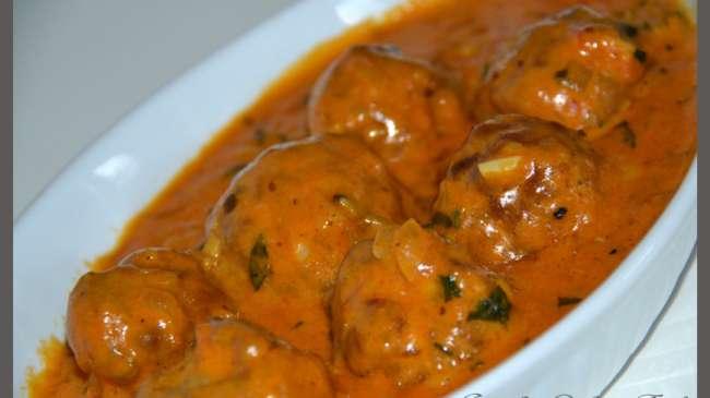 Boulette de viande hach e l 39 indienne par jawahir - Comment cuisiner les boulettes de viande ...