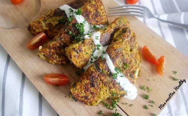 Chausson de légume au millet sans gluten | Mes recettes Healthy