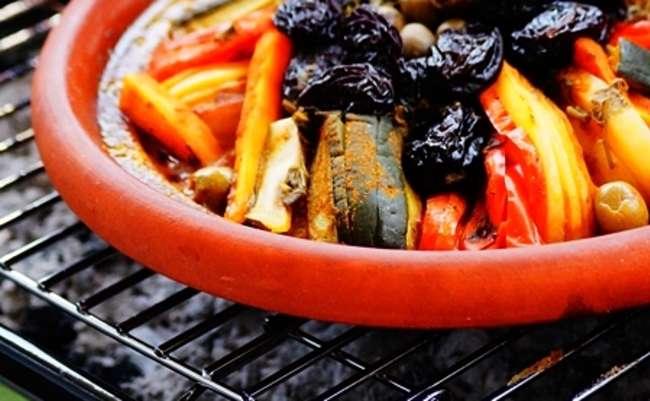 Tajine berbère aux légumes