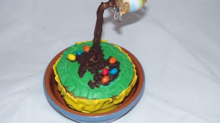 Gravity Cake oeuf de Pâques