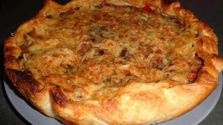 Tourte la ratatouille recette par gourmicom - Cuisiner la ratatouille ...