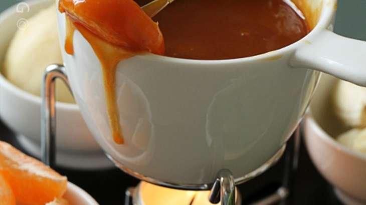 Fondue de caramel au beurre salé