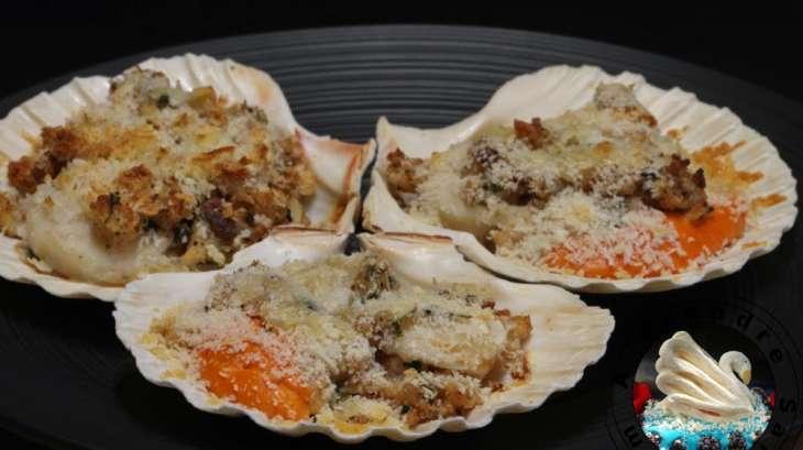 Coquilles saint jacques la nantaise recette par a - Cuisiner les coquilles st jacques surgelees ...