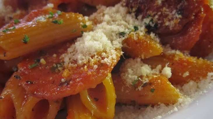 Gratin de p tes l 39 agneau et aux aubergines et ricotta la grecque recette par streetfood - Cuisiner aubergine rapide ...