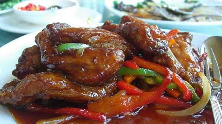 Saut de porc aux oignons sauce aigre douce recette par cuisine maison d 39 autrefois comme - Cuisiner le saute de porc ...