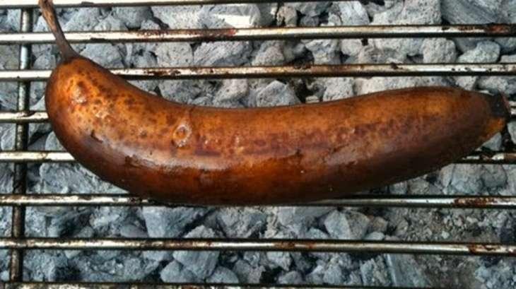 Bananes flambées au barbecue ou à la plancha