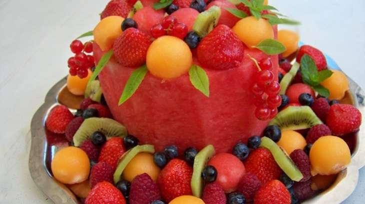 Conserver un gateau aux fruits