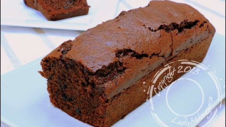 cake au chocolat d olivier bajard recette par ladymilonguera. Black Bedroom Furniture Sets. Home Design Ideas