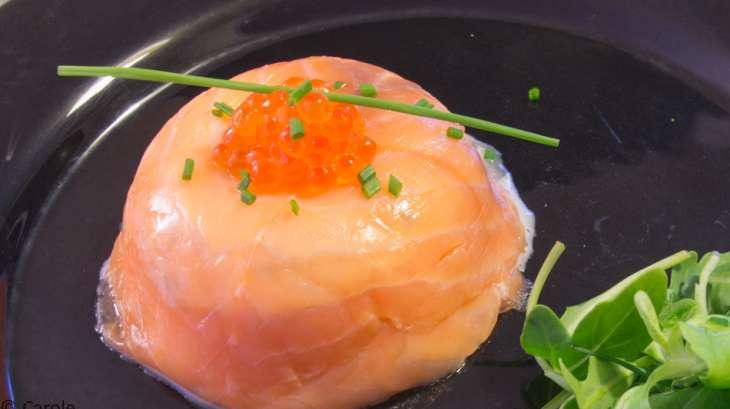 saumon fum farci au thon et miettes de crabe recette par papillonette. Black Bedroom Furniture Sets. Home Design Ideas
