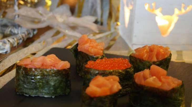 "Gunkan Maki, le sushi ""easy"""
