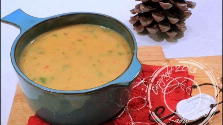 soupe au chorizo fenouil et pomme de terre recette par ladymilonguera. Black Bedroom Furniture Sets. Home Design Ideas