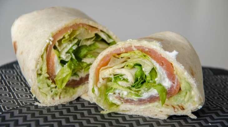 Wraps simple et rapide pour le d jeuner recette par les for Repas rapide et original