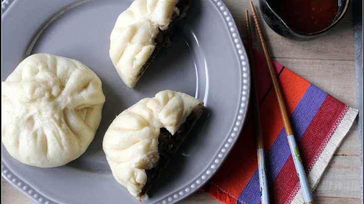 Banh bao au canard et au miel