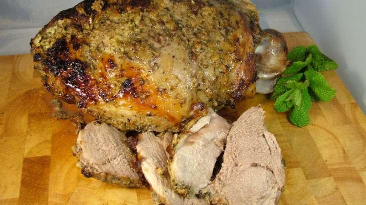 Gigot d'agneau - Epaule d'agneau mariné(e) yaourt et menthe