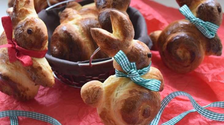 Lapins briochés de Pâques