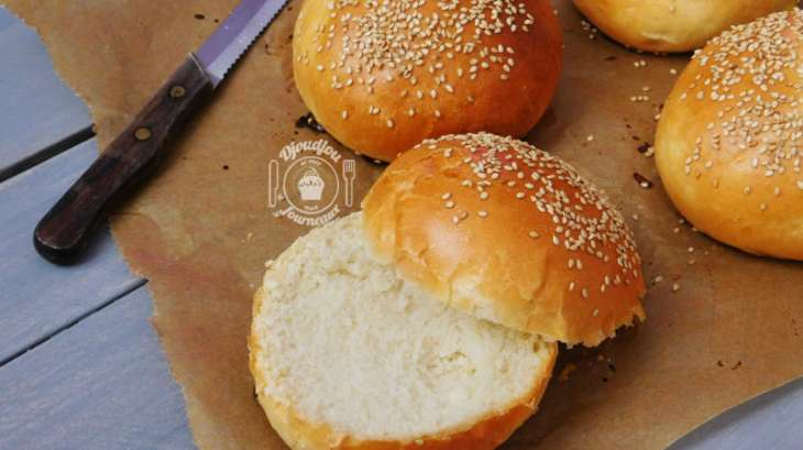 pains burger ultra moelleux buns recette par djoudjou. Black Bedroom Furniture Sets. Home Design Ideas