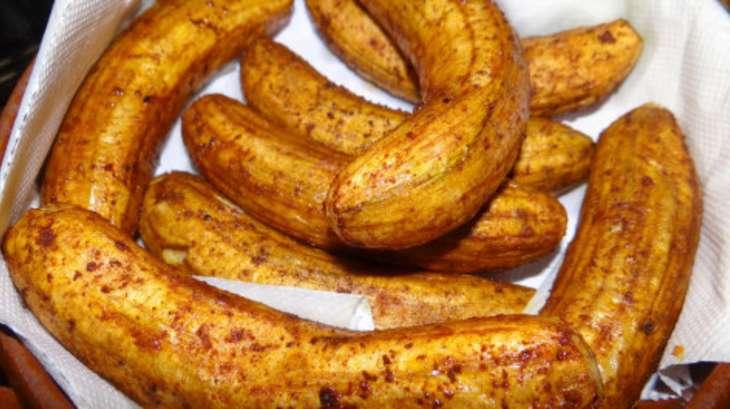 Banane verte frite la mahoraise recette par les - Cuisiner banane plantain ...