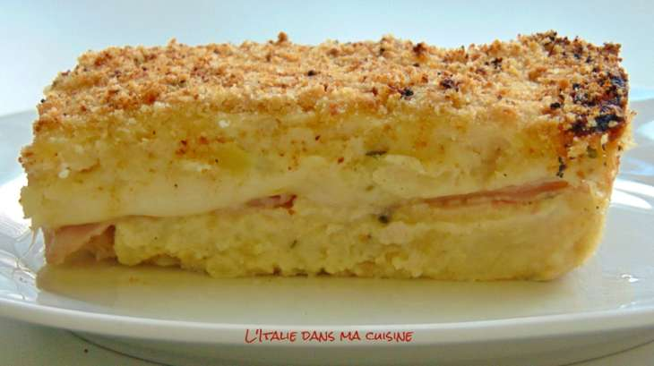 gâteau de pommes de terre à la napolitaine - recette par l'italie