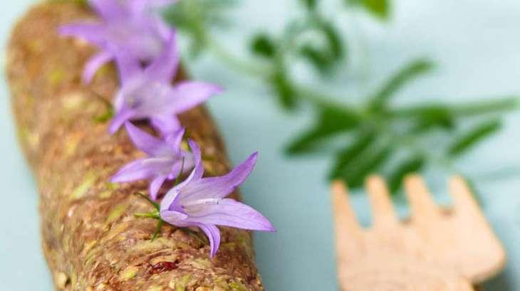 Paté végétal cru aux jeunes pousses