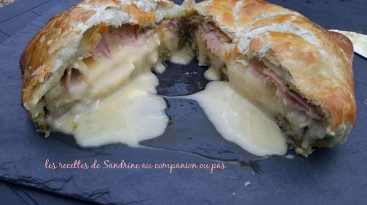 Camembert en cro te jambon pesto l 39 ail des ours - Ou trouver ail des ours ...