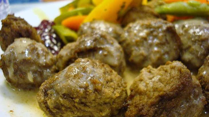 Boulettes suédoises à la viande