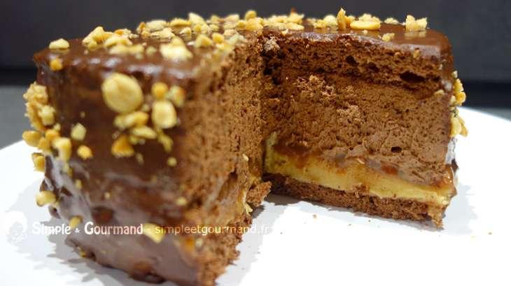 Gateaux gourmand - Gateau beurre de cacahuete ...