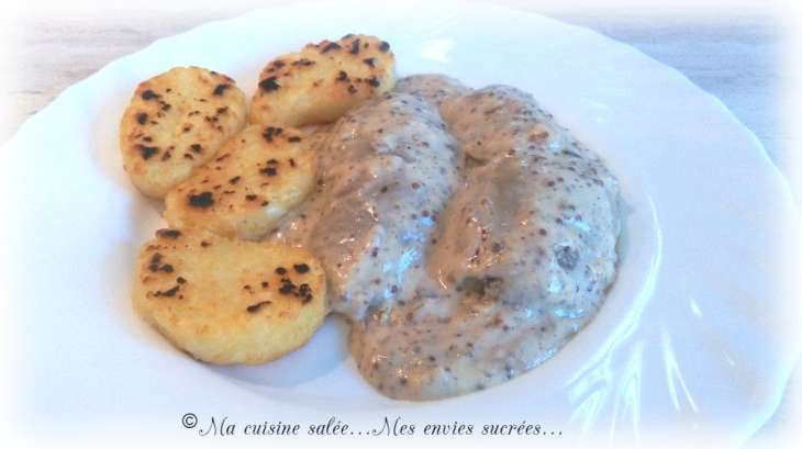 Rognons de porc moutarde a l 39 ancienne recette par ma - Cuisiner rognons de porc ...