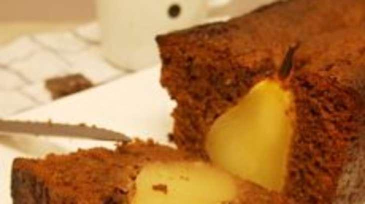 cake vegan chocolat et poires recette par comment j 39 ai chang de vie. Black Bedroom Furniture Sets. Home Design Ideas