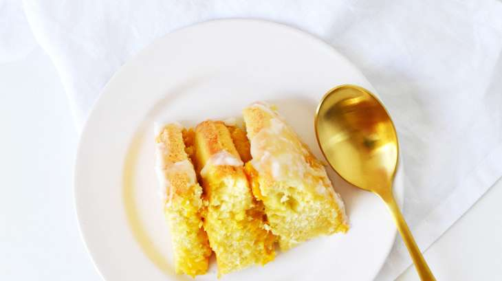 Layer cake mangue coco