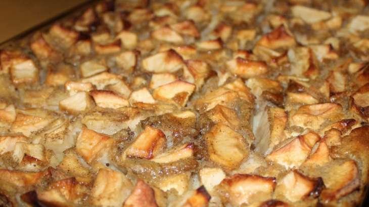 Clafoutis aux pommes de ma grand m re recette par d licim - Recette merveilles de grand mere ...