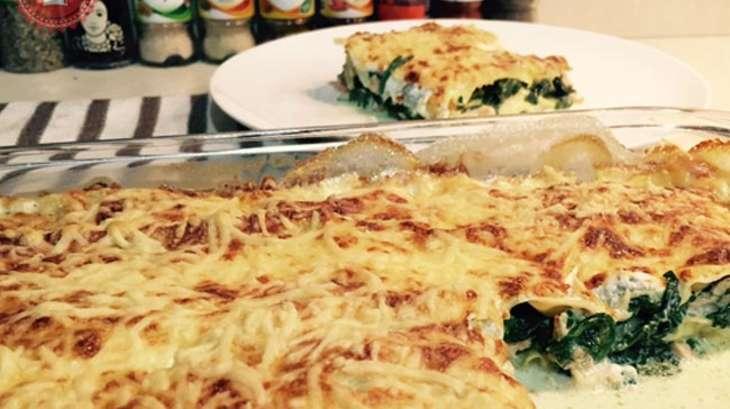 Lasagnes Fraîches Au Saumon Et épinards Frais Recette Par Les - Cuisiner des epinards frais