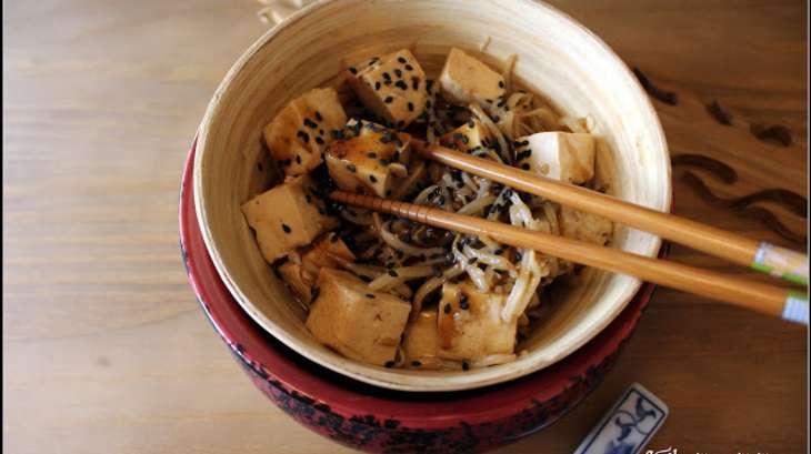 recettes de tofu et de cuisine asiatique