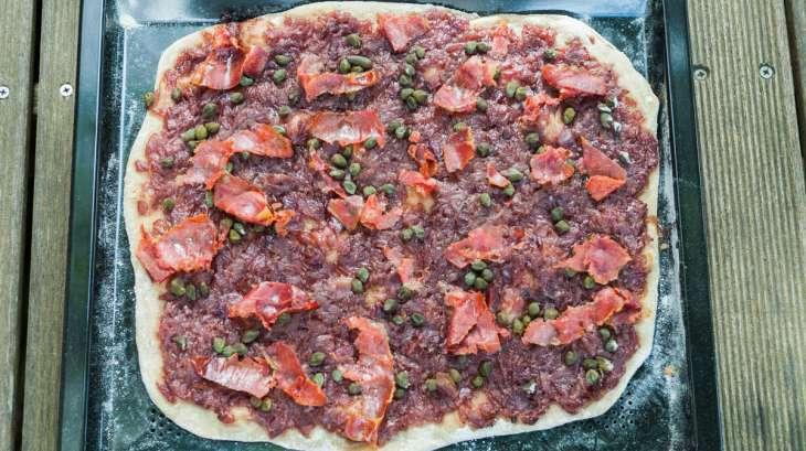 Entre pizza et flammekueche