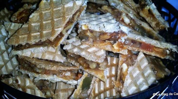 Gaufrettes aux noix et loukoum recette par catalina le - Cuisiner chataignes fraiches ...