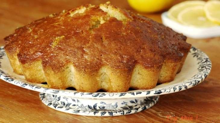 Pound cake à la bergamote