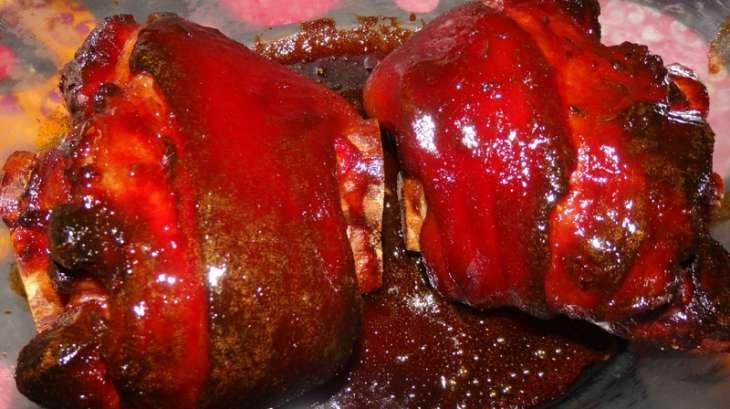 Jarret de porc laqu w dele comme en alsace recette - Cuisiner un jarret de veau ...