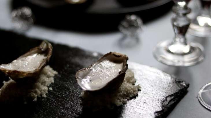 Huîtres à la vanille