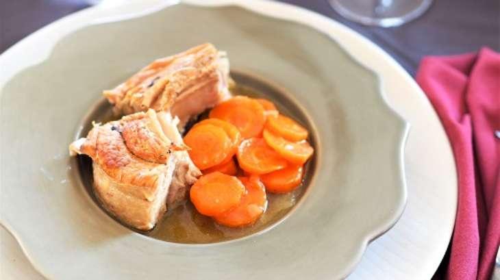 Tendrons de veau aux carottes et au miel recette par my - Cuisiner le tendron de veau ...