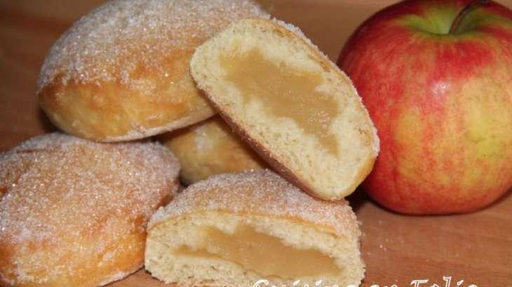 Beignets aux pommes au four recette par cuisine en folie - La ferme aux beignets ...