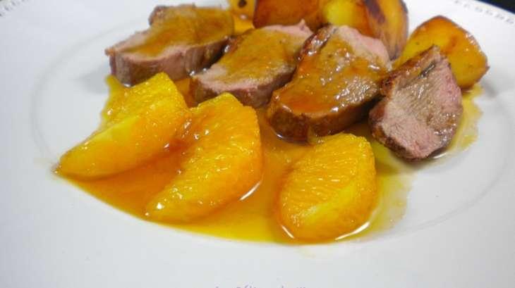 Filet de canard sauce bigarade