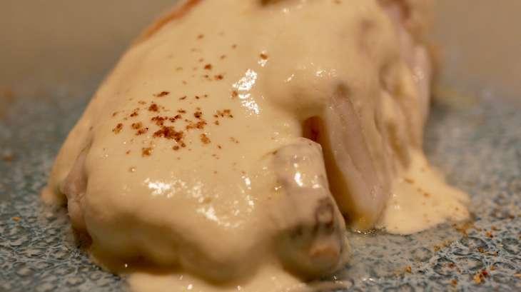 Dos de cabillaud crème au thym frais et morilles fraîches