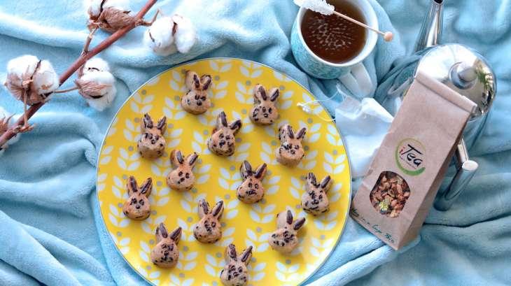 Petits fours tigrés chocolat coco