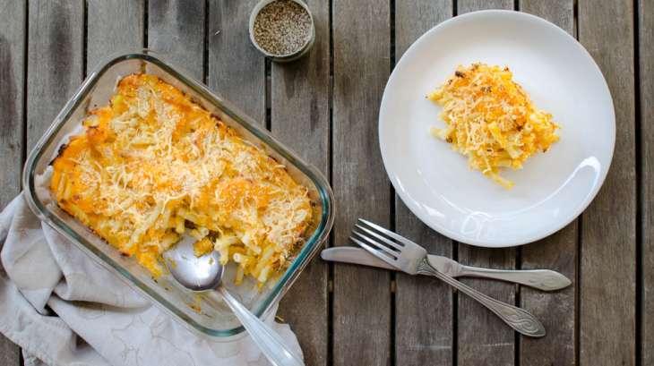 Gratin de macaronis la courge butternut recette par les recettes de m lanie - Quand recolter les butternut ...