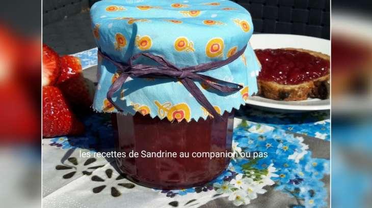 Confiture de fraises vanille maison recette par recettes Confiture au fraise maison