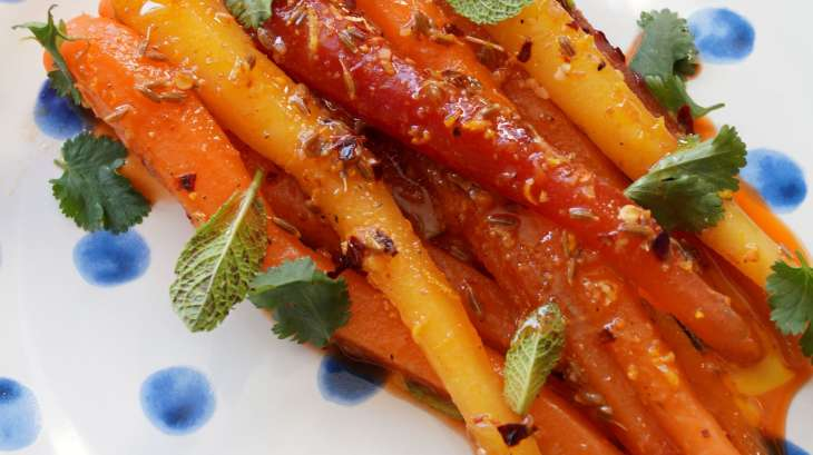 salade de carottes marocaine recette par miam miam yum. Black Bedroom Furniture Sets. Home Design Ideas